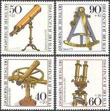 Germany 1981 Optical Instruments/Science/Telescope/Microscope 4v set (n27496)