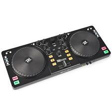 NOVITÀ! POWER DYNAMICS PDC-10 CONSOLE DJ DOPPIO USB MIDI CON SOFTWARE MIXVIBES!