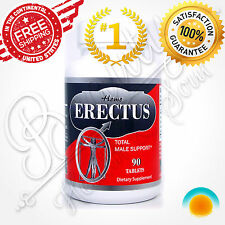 ERECTUS Male Enlargement Penis Enlarger pills GROW BIGGER THICKER LARGER SIZE