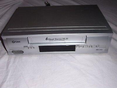 DVD-Player Funai DPVR 6674 6 Head HiFi gewartet 1 Jahr Garantie Videorecorder