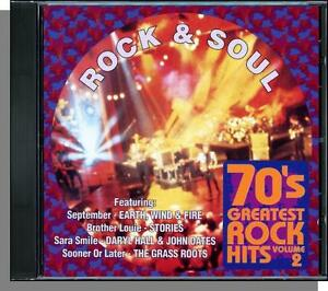 Details about 70's Greatest Rock Hits, Vol  2 - Rock & Soul - New Various  Artists, Hits CD!