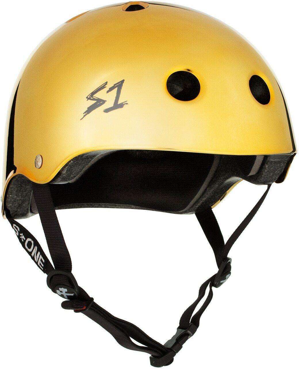 S1 Lifer  Helmet - gold Mirror Gloss  the best after-sale service