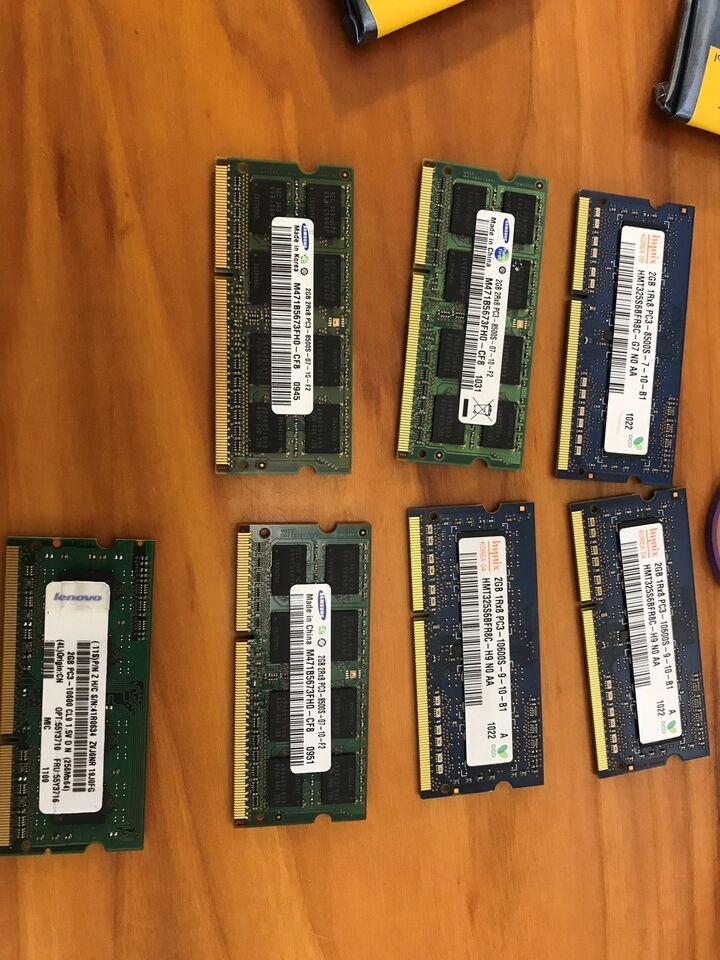 Diverse, 2GB, DDR3 SDRAM