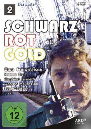 1 von 1 - Schwarz Rot Gold 2 - Folge 7-12 * NEU OVP * 4 DVDs