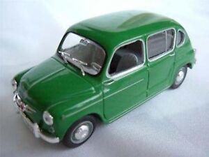 Asiento de coche Fiat 800 Verde Oscuro 1//43RD escala modelo como nuevo Embalado Clásico 500 ^ ** ^