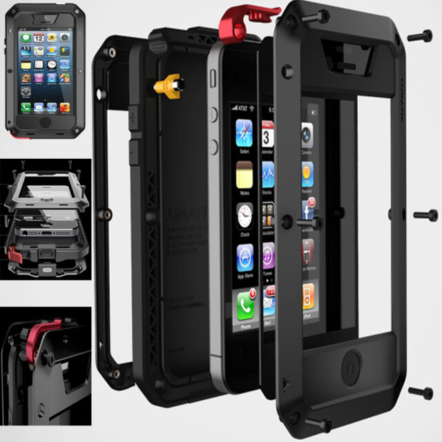 Impermeabile Alluminio Gorilla Cover Di Metallo custodia per iPhone 5/6 Samsung