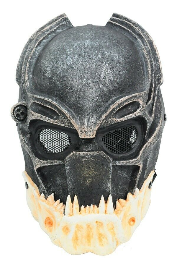 Paintball Airsoft Full Face Prossoection Alien Vs Prossoator Mask Cosplay Prop A699