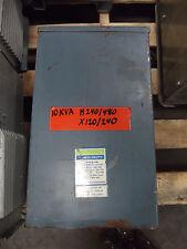 Hevi Duty General Signal 10 Kva Transformer Hsif10a 240480 120240