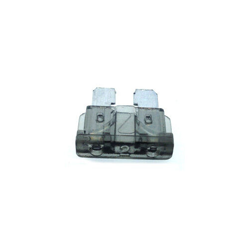 2A Grey Standard Car Auto Blade Fuse 2 Amp ATO - Pack of 10