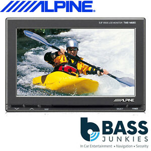 Alpine-TME-M680-5-8-034-Wide-Screen-AUX-Monitor-and-Headrest-Installation-Kit