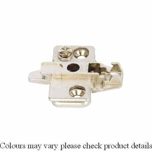 0mm Mounting Plate Super Compact Cruciform Grass Click On System Hinges Hospa