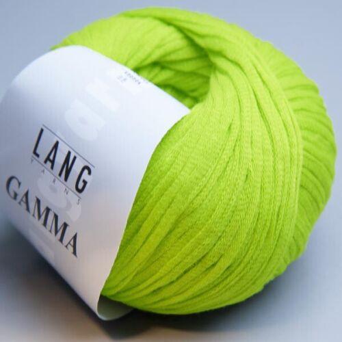 LL 165m Lang Yarns Gamma 16 50g Nadelstärke 4,5-5