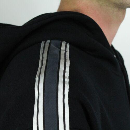 l en negro M con Sudadera Jersey Tape talla Polar xl de capucha wnHfYxqZv