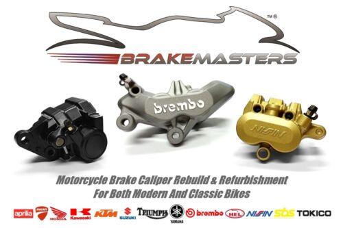 Honda NX650 Dominator rear brake caliper piston seal rebuild repair kit J 1988