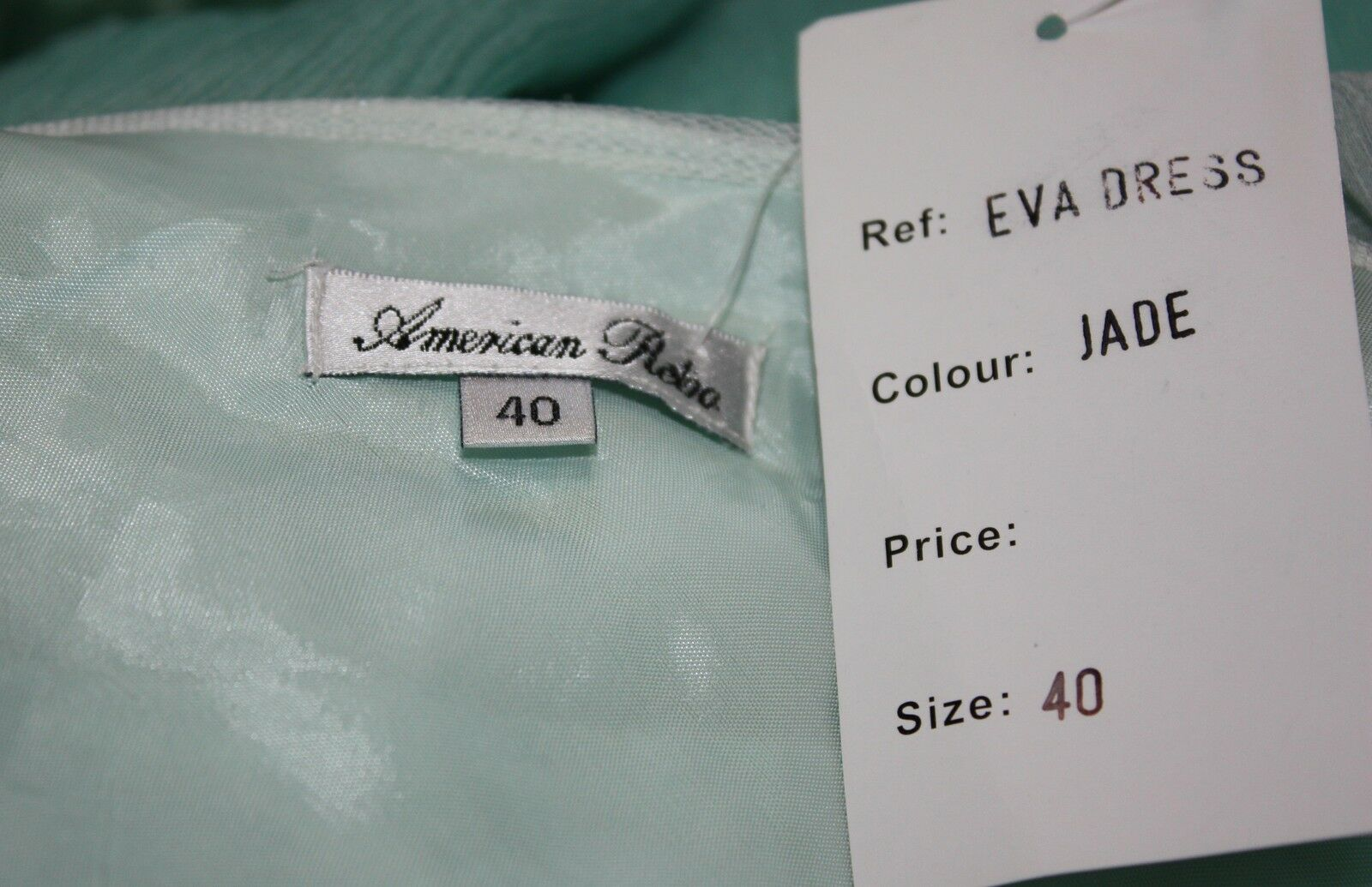 NEW American American American Retro SILK Lace Jade Ombre Eva Dress Size 40 ⭐️Retail  297⭐️ 32cdf2