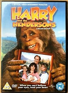 Harry-and-the-Hendersons-DVD-1987-Bigfoot-Sasquatch-Yeti-Family-Comedy-Classic