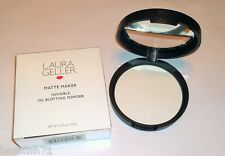 Laura Geller Matte Maker Invisible Oil Blotting Powder - Full Size - New in Box