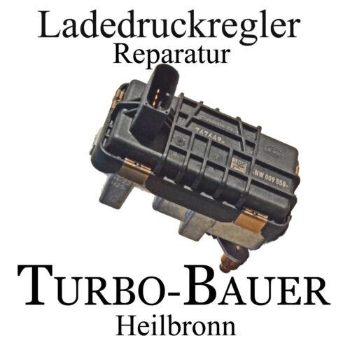 Reparatur Hella Ladedruckregler Audi A4 Avant 3.0 TDI  2967 150 KW