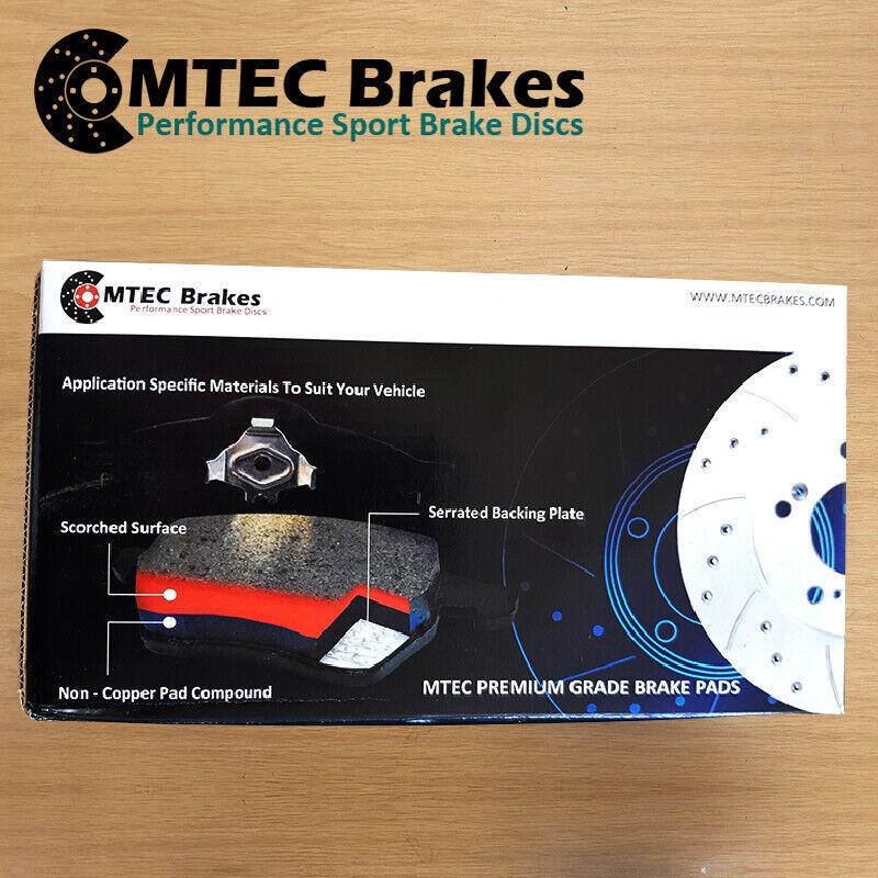 Mercedes E-Class W211 200k 220 240 270 Rear Brake Discs /& MTEC Pads