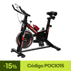 Bicicleta Estatica Spinning Bici Ejercicio Gym Casa Indoor Fitness Volante 10kg