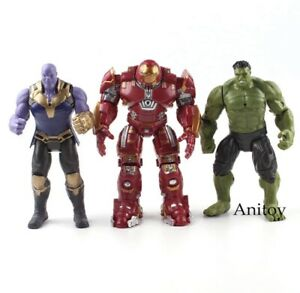 Marvel-The-Avengers-Figur-Super-Heroes-Iron-Man-Hulk-AKTION-figuren-Toys-17cm