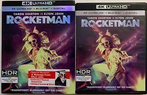 ROCKETMAN-4K-ULTRA-HD-BLU-RAY-2-DISC-SET-SLIPCOVER-SLEEVE-amp-BOOKLET-ELTONJOHN