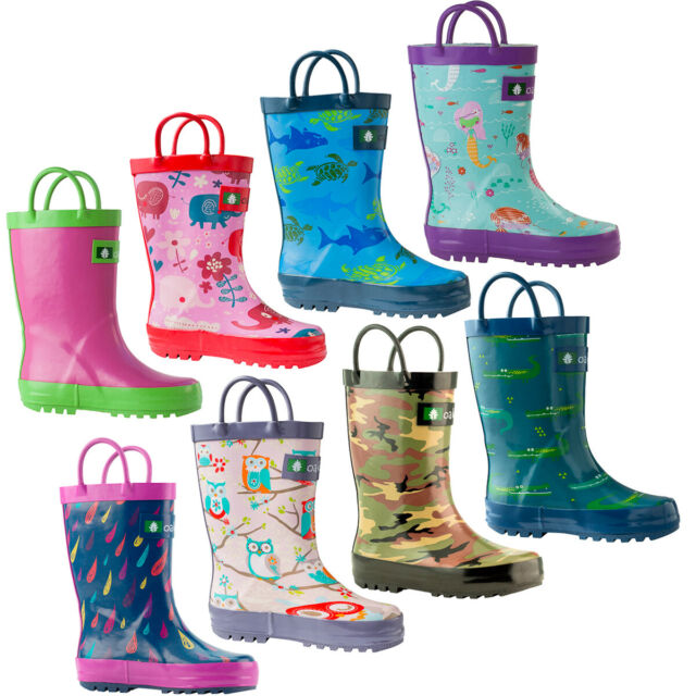 Outee Toddler Boys Kids Rubber Rain