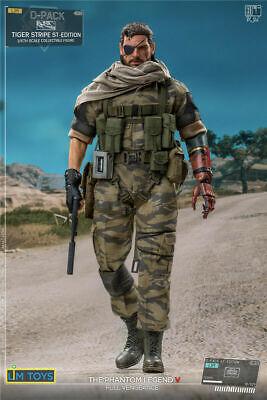 Pre-order 1//12 LIMTOYS LIMINI S+ Metal Gear Solid Snake Tiger Stripe 6IN Figure