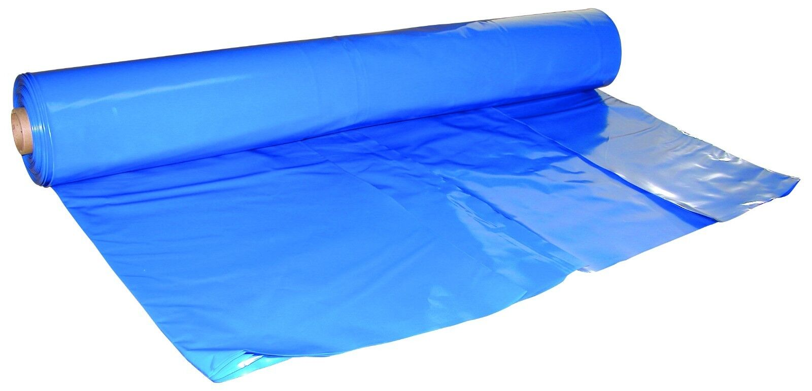 32 ft. x 100 ft. bluee, 7 Mil Shrink Wrap - DS-327100B
