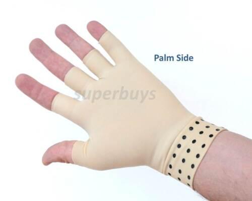 Magnetic Medium Left Edema Arthritis Compression Glove Hand Swelling Swell Pain