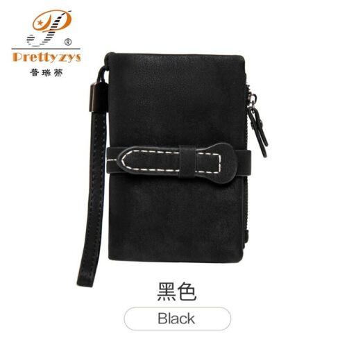 New Medium Purse Women Wallets Zipper Wallet Wrist strap Ladies Carteira Feminin