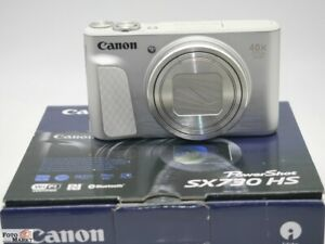 Canon-PowerShot-SX730-HS-Superzoom-Kamera-silber-40x-opt-Zoom-Objektiv-WiFi