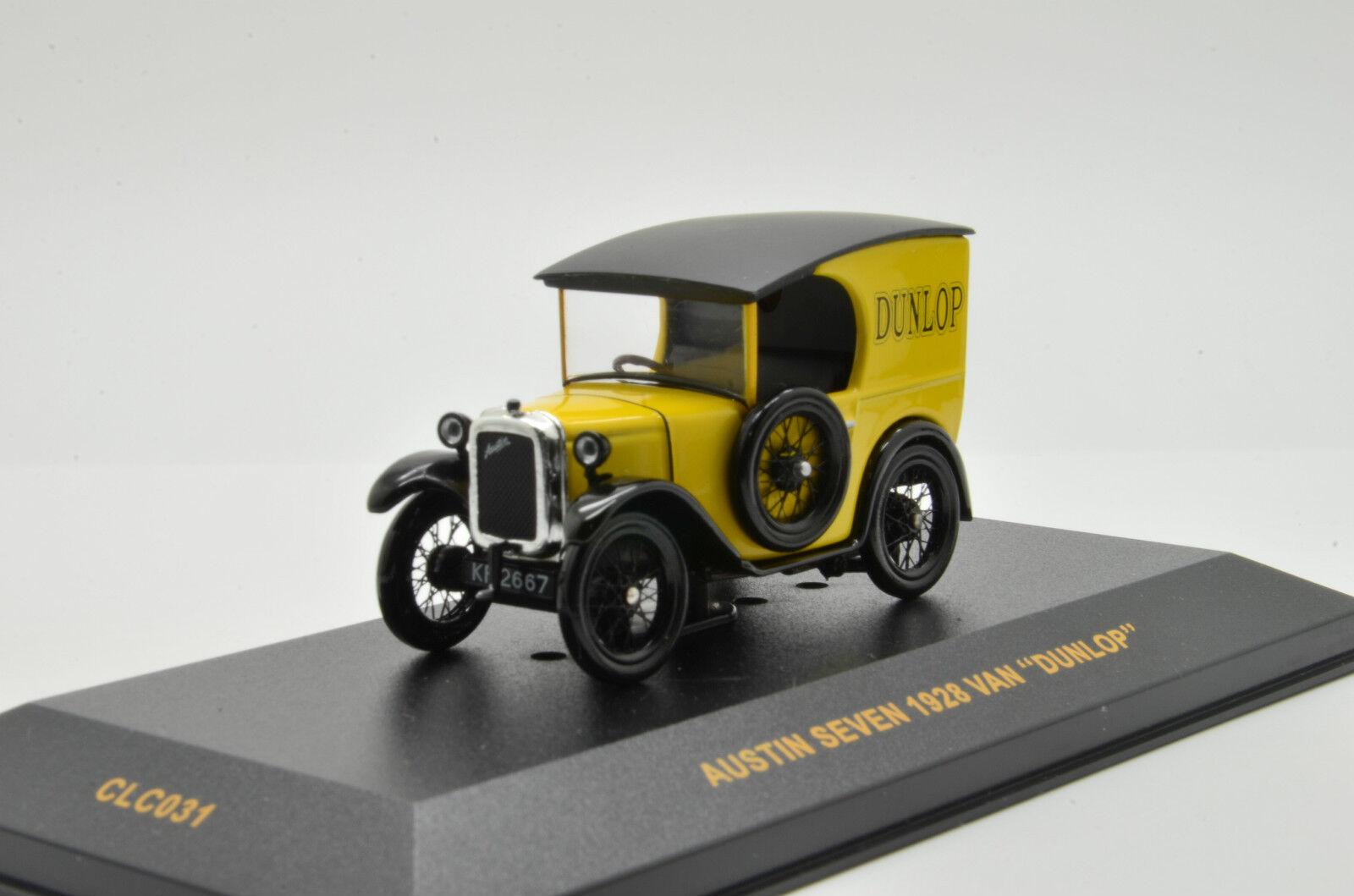 Raro   Austin Seven 1928  Dunlop  Ixo clc031 1 43