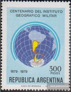 Argentinien-1419-kompl-Ausg-postfrisch-1979-Militaer
