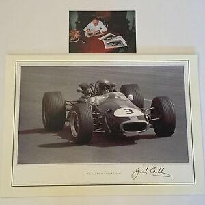 Jack-Brabham-Hand-Signed-16x12-Photo-F1-Very-Rare-SEE-PROOF
