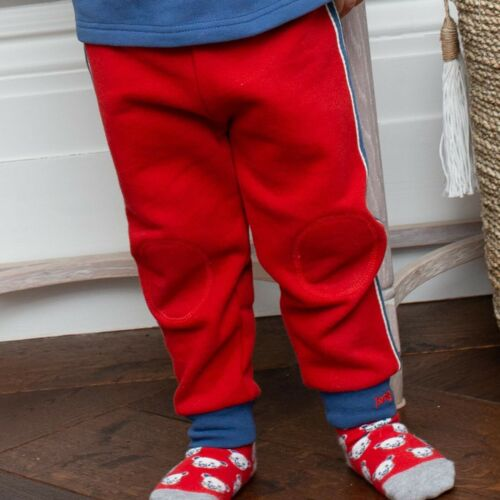 Kite Clothing Side Stripe Joggers Red