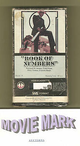 BOOK-OF-NUMBERS-1973-Magnetic-Video-Raymond-St-Jacques-Blaxploitation-vhs-OOP