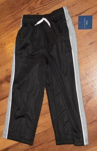 Size 3T Falls Creek Boys Black /& Gray Athletic Pants Brand new w//tags nwt