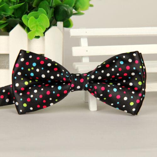 Men Fashion Pre-tied Bow Tie Wedding Party Prom Tuxedo Adjustable Bowtie Necktie