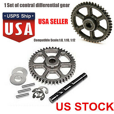 Metal HPI 100905 Savage Flux 44t Central Differential 4.6 5.9 Gear Driven Spare