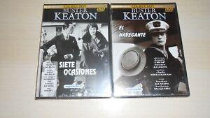 LOTE-DVD-BUSTER-KEATON-SIETE-OCASIONES-EL-NAVEGANTE-Y-OTROS-TITULOS
