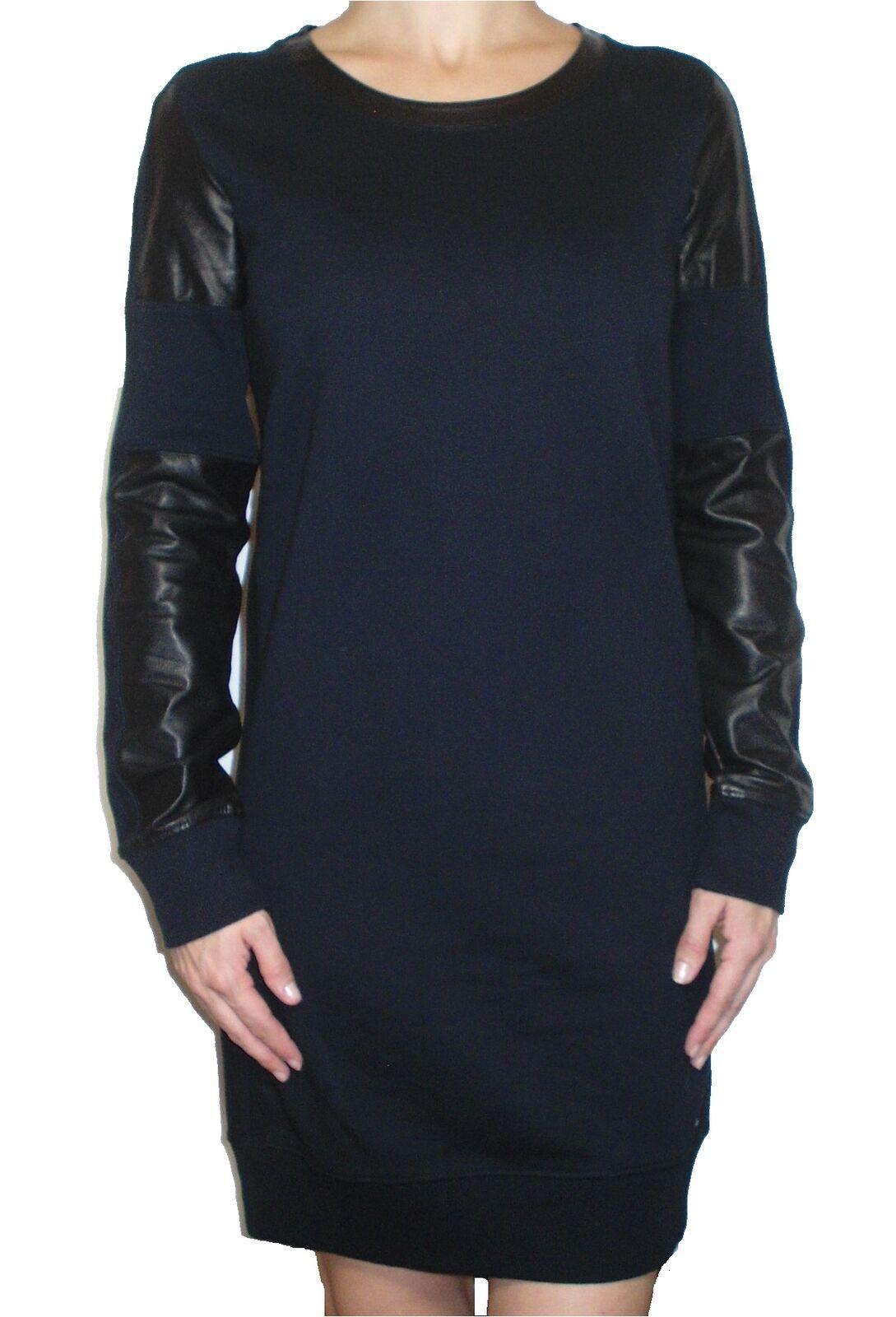 Diesel Stretch Damenkleid   D-ELAB  langarm schwarz Gr. XS Neu