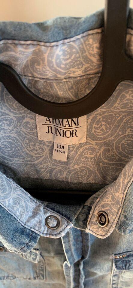 Skjorte, Jeans stof, Armani Jeans