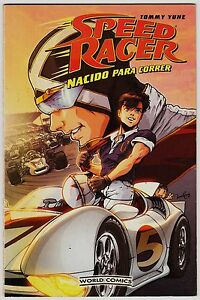 Speed Racer: Nacido Para Correr (tomo Amerimanga De La Serie Meteoro)