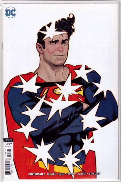 SUPERMAN #6 DC Adam Hughes Virgin VARIANT Cover Brian Bendis DC Comic Unread NM+
