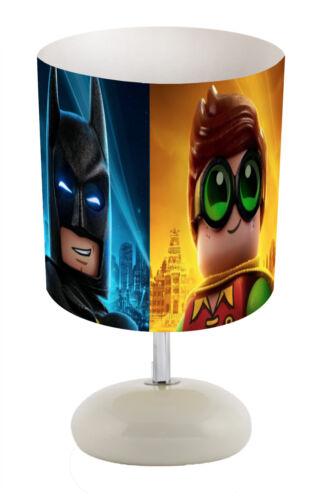 Stick Lamp or Bundle  FREE P/&P SUPERHERO LOGOS  choose from Lamp Shade
