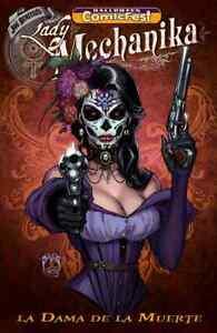 Halloween Comicfest 2020 Lady Mechanika HALLOWEEN COMICFEST HCF 2019 LADY MECHANIKA LA DAMQ DE LA MUERTE