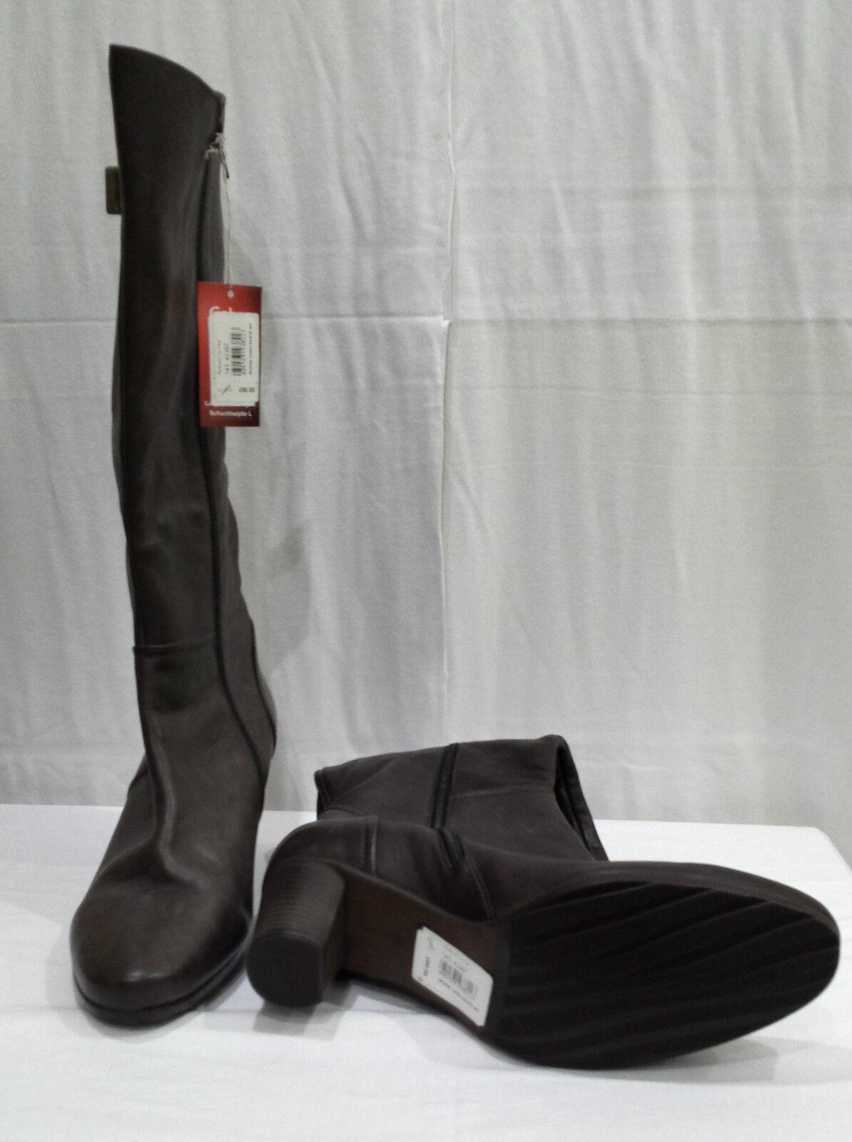 GABOR - SPOKE CHOCOLATE BOOT - SIZE 6 1/2 BB184 - 20,000+ F/BACK  BB184 1/2 6c84ff