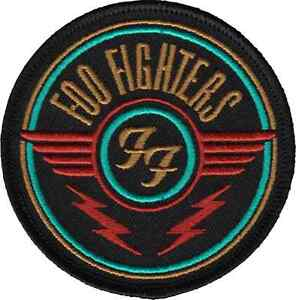 110023 foo fighters quotffquot logo with lightning bolts rock