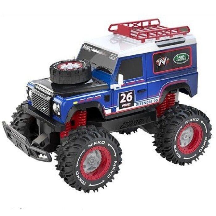 Nikko RC Land Rover Defender 90 veicoli Fuori Strada Bambini Racing auto giocattolo scala 1:16